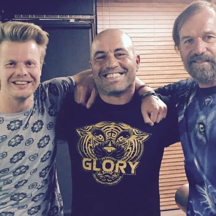 Bart Pronk, Joe Rogan, Wim Hof, Malibu (USA) 2015, Joe Rogan Show
