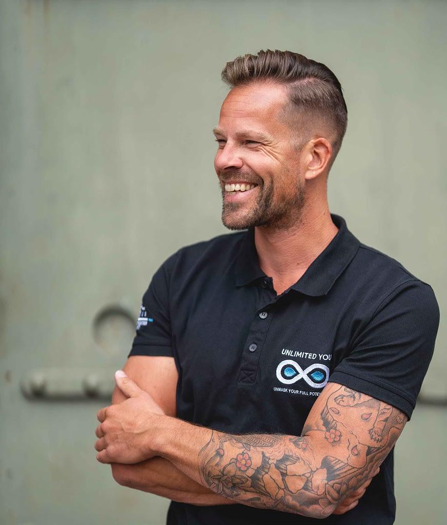 Niels Roest is eigenaar van Unlimited You